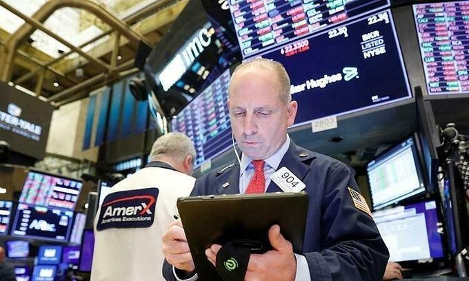 Dow Jones tăng mạnh nhất hơn một tháng