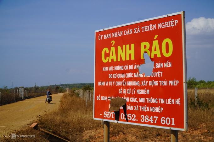 Bình Thuận ngăn sốt đất ảo quanh dự án Sân bay Phan Thiết