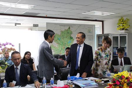 ngày 30/8/2018, Lãnh đạo HoREA làm việc cùng Đoàn J-CDE đến từ Nhật Bản