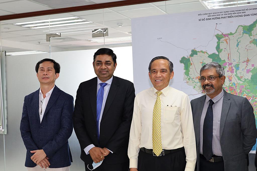Ngày 04 tháng 09 năm 2020, Lãnh đạo HoREA làm việc với Tổng Lãnh sự quán Ấn Độ